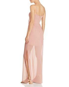 WAYF - Charmed Tie-Front Dress - 100% Exclusive