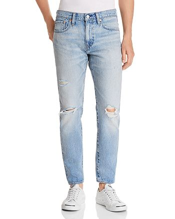 Levi's - Hi-Ball Roller Destroyed Tapered Fit Jeans in Swing Man
