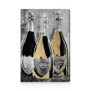 Oliver Gal Dom Party For Three Canvas Art, 10 x 15