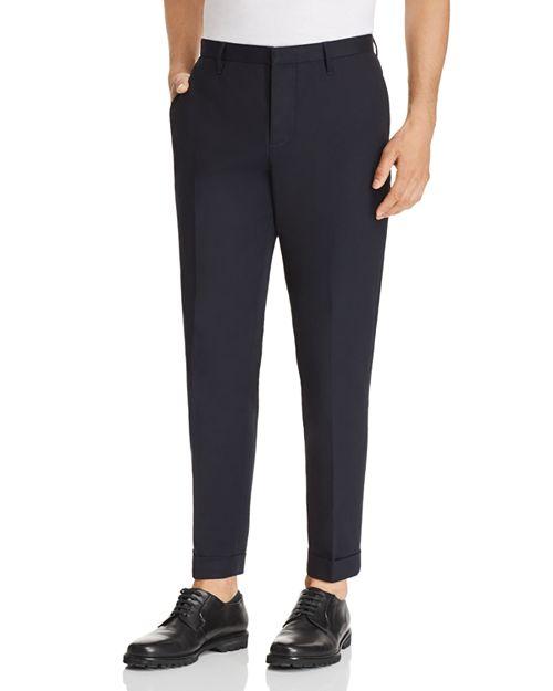 Emporio Armani - Cuffed Regular Fit Pants