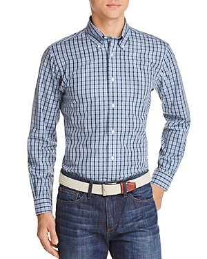 Brooks Brothers Regent Non-Iron Plaid Slim Fit Button-Down Shirt