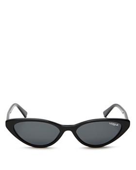 Vogue Eyewear - Women's Gigi Hadid for Vogue Slim Cat Eye Sunglasses, 52mm
