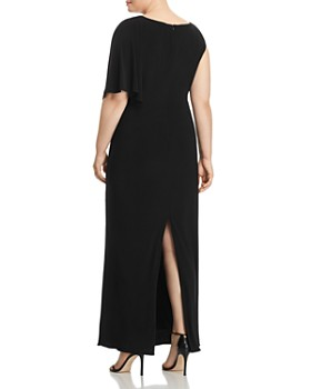 Adrianna Papell Plus - Jersey One-Sleeve Maxi Dress