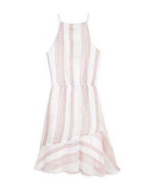 Aqua Girls' Striped Dress, Big Kid - 100% Exclusive