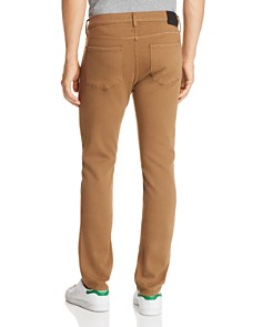 PAIGE - Federal Slim Fit Jeans in Laurel Tan