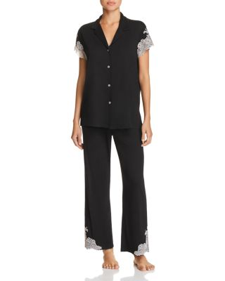 Luxe Shangri La Cropped Pj Set by Natori