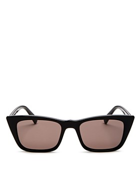 Le Specs - Women's I Feel Love Square Cat Eye Sunglasses, 51mm