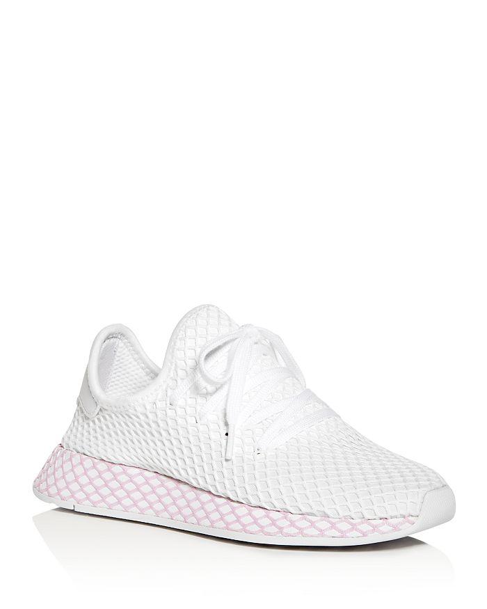 Adidas - Women's Deerupt Net Lace Up Sneakers