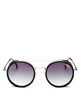 Carrera - Women's Round Sunglasses, 50mm