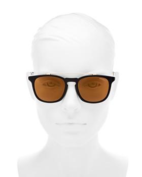 Carrera - Women's Mirrored Brow Bar Square Sunglasses, 51mm