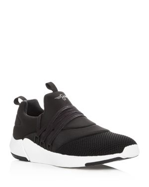 CREATIVE RECREATION MEN'S MATERA KNIT LACE UP SNEAKERS