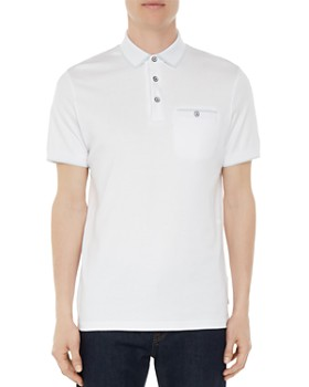 Ted Baker - Jelly Flat Knit Regular Fit Polo