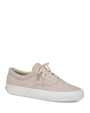 KEDS WOMEN'S ANCHOR NUBUCK LEATHER LACE UP SNEAKERS