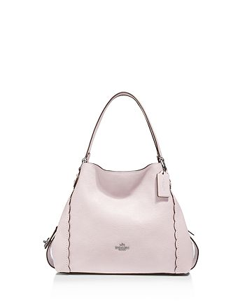 c3dd1c0272b COACH Scalloped Edie 31 Polished Pebble Leather Shoulder Bag ...