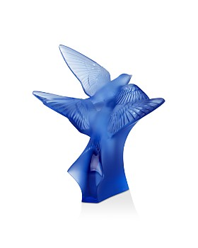 Lalique - Two Swallows Small Sculpture
