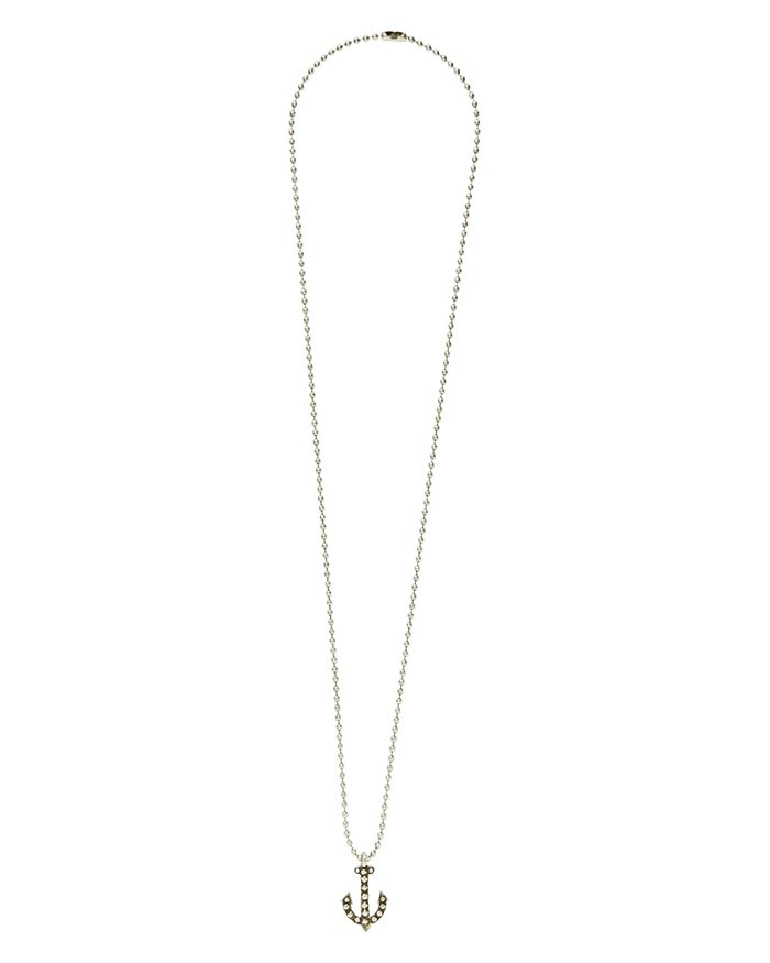 Giles & Brother - Vintage Anchor Necklace