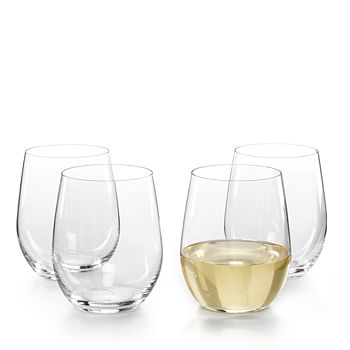 Riedel - O Viognier/Chardonnay Glass, Set of 3 Plus Bonus Glass