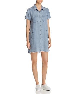 Billy T CHAMBRAY SHIRT DRESS