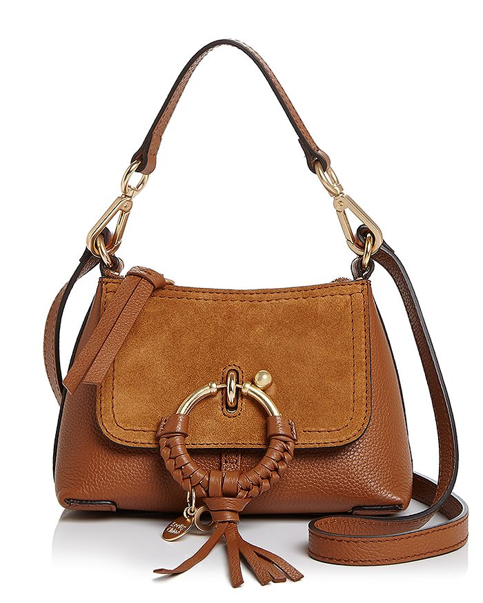69832c2a298 See by Chloé Joan Mini Leather & Suede Hobo | Bloomingdale's