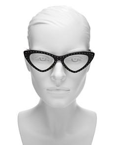 Moschino - Women's Slim Cat Eye Optical Glasses, 52mm
