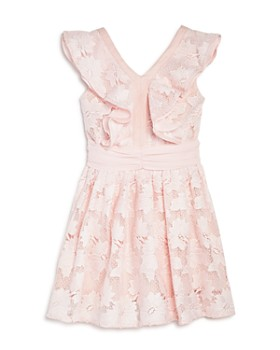 Bardot Junior - Girls' Ruffled Floral Lace Dress - Little Kid