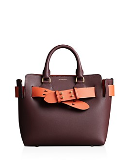 Burberry - Small Leather Belt Bag