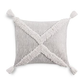 """Sky - Geo Tufted Decorative Pillow, 16"""" x 20"""" - 100% Exclusive"""