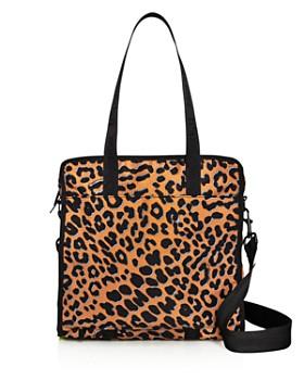 LeSportsac - Gabrielle Medium Leopard-Print Nylon Box Tote