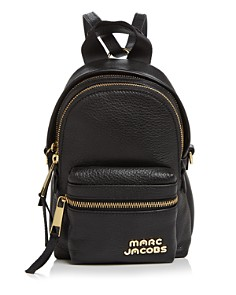 MARC JACOBS - Micro Leather Backpack