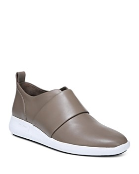 Via Spiga - Women's Marlon Leather Slip-On Sneakers