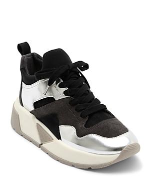 Dolce Vita Women's Walter Mixed Media Platform Dad Sneakers