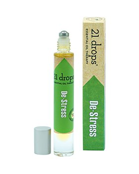 21 Drops - De-Stress Essential Oil Roll-On 0.3 oz.
