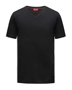 HUGO - Dandre V-Neck Short-Sleeve Tee