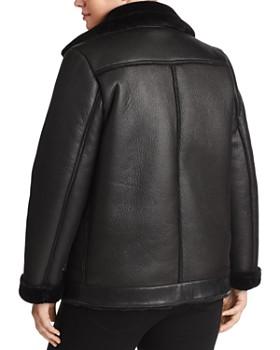 Marina Rinaldi - Neomi Faux-Shearling Biker Jacket