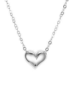 """Bloomingdale's - Heart Pendant Chain Necklace, 16"""" - 100% Exclusive"""