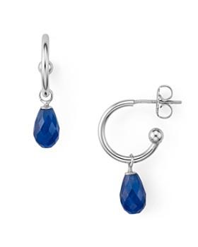 Bloomingdale's - Sapphire Briolette Drop Earrings - 100% Exclusive
