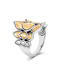 John Hardy Sterling Silver & 18K Bonded Gold Legends Naga Small Brushed Saddle Ring - Bloomingdale's_0