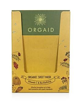 ORGAID - Vitamin C & Revitalizing Organic Sheet Masks, Set of 4