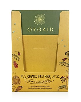 ORGAID - Vitamin C & Revitalizing Organic Sheet Masks, Set of 4