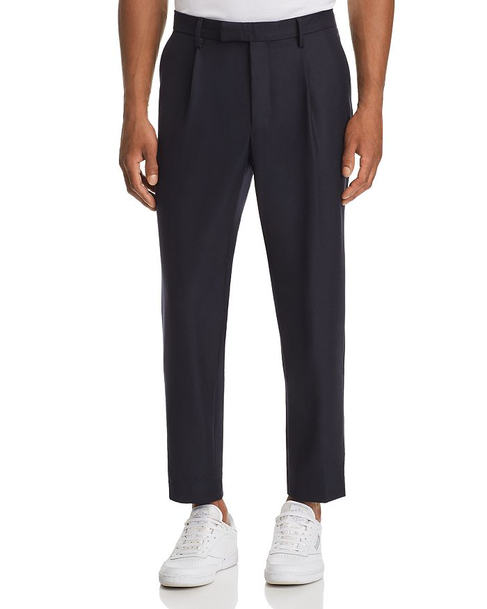 Moncler - Cropped Tailored Fit Wool Pants