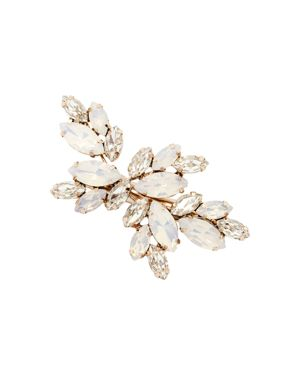 BRIDES AND HAIRPINS Brides And Hairpins Luna Crystal Hair Clip in Rose Gold