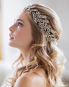 Brides and Hairpins - Kira Halo Headpiece