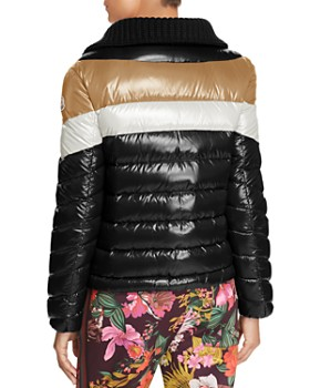 Moncler - Albatros Jacket, Turtleneck Sweater & Floral Print Trousers