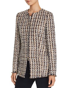Lafayette 148 New York - Landon Metallic Tweed Jacket