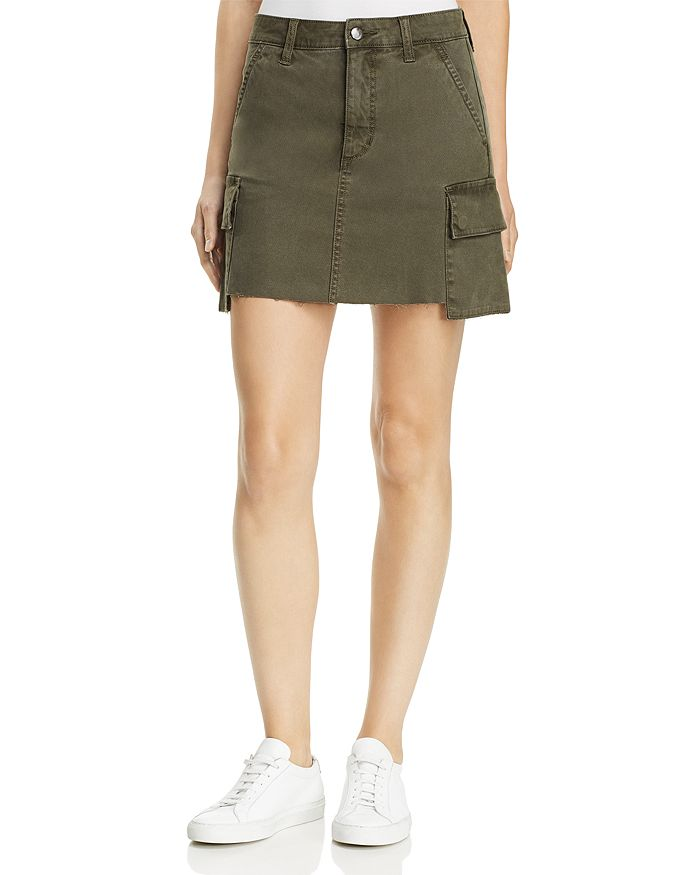 Joe's Jeans - Army Cargo Skirt in Forest Floor