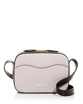 68009be6a0 Marni - Color-Block Leather Mini Camera Bag ...
