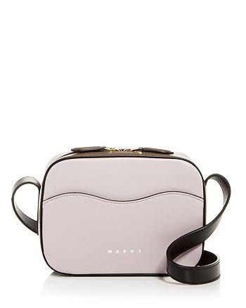 Marni - Color-Block Leather Mini Camera Bag
