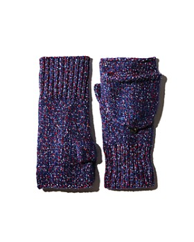 rag & bone - Marled Pop Top Mittens