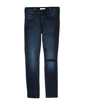 DL1961 Boys DarkWash Distressed Hawke Skinny Jeans  Big Kid