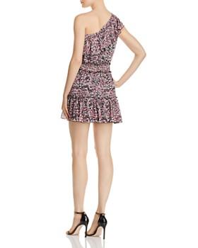 Karina Grimaldi - Josue Ruffled One-Shoulder Floral Dress